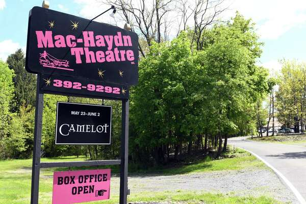 The Mac-Haydn Theatre is located in Chatham on a country road lined with emerald fields and foliage, between the John Deere dealership and the county fairgrounds.