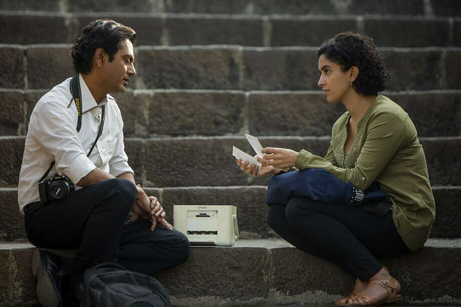 "Nawazuddin Siddiqui, left, and Sanya Malhotra in ""Photograph."" MUST CREDIT: Joe D'Souza, Amazon Studios Photo: Joe D'Souza / Amazon Studios / Courtesy of Amazon Studios"