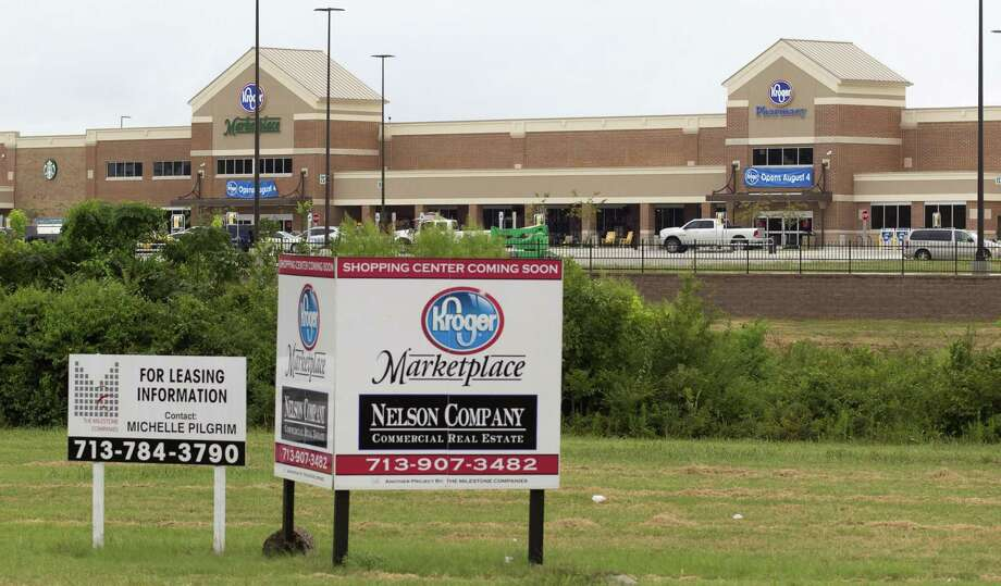 Since the Kroger Marketplace opened in Montgomery in August 2017, more than 20 businesses have opened near the development. Now city officials say more retail development is on the way. Photo: Jason Fochtman, Staff Photographer / Houston Chronicle / © 2017 Houston Chronicle