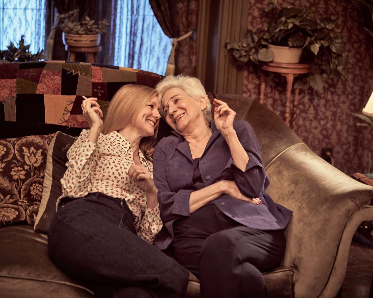 Returning regulars Laura Linney and Olympia Dukakis share a warm moment in Netflix's new incarnation of
