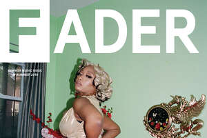 Megan Thee Stallion covers The Fader summer music issue.