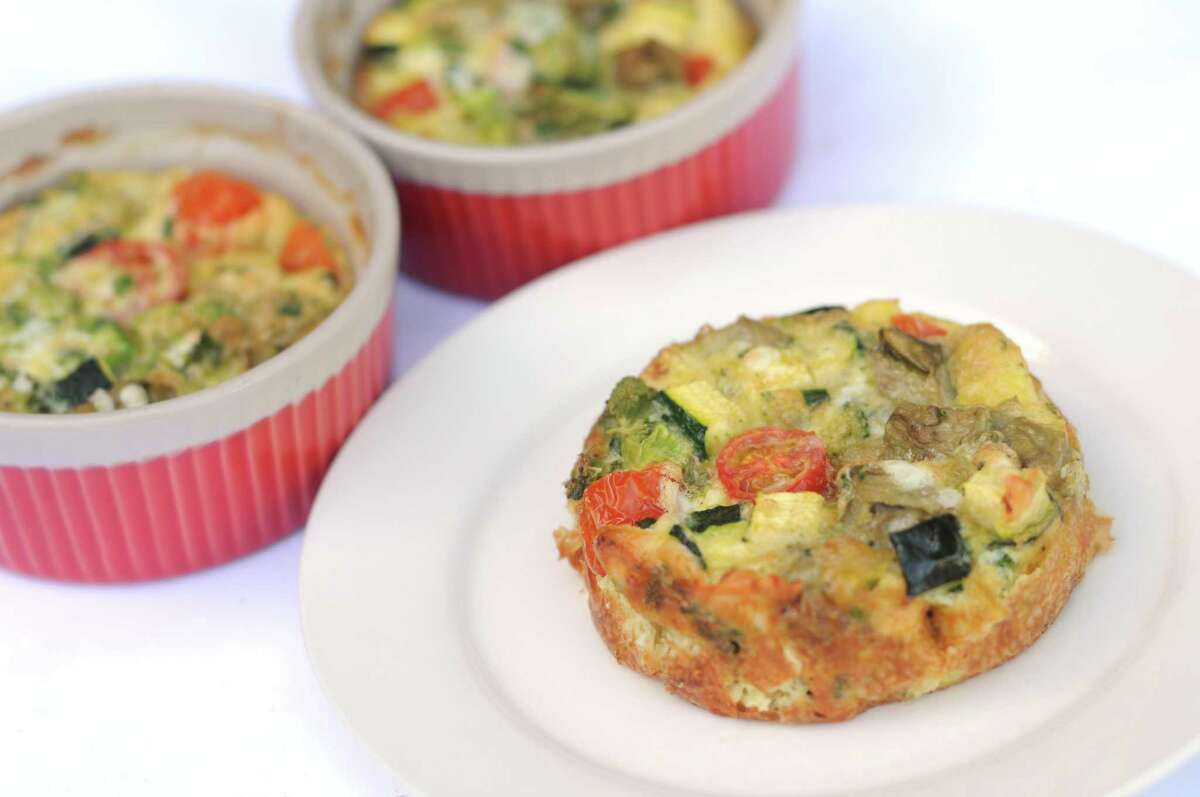 Kids' Cheese and Vegetable Frittata