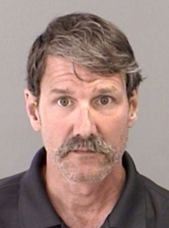 Peter David Baty, 54, of College Station, was arrested May 16 and charged with invasive video recording. Photo: Brazos County Jail Records