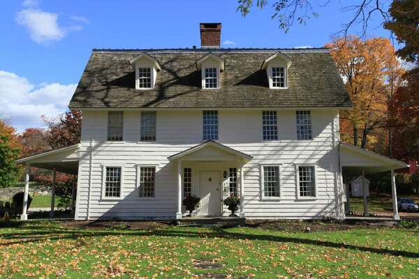 "Join former First Selectman and Wilton historian Bob Russell on a walking tour of the Wilton Historical Society's preserved buildings at Lambert Corner June 8. The hour-long guided tour includes Lambert House, above, formerly known as ""Lilacstead,"" which was built on the site circa 1726."