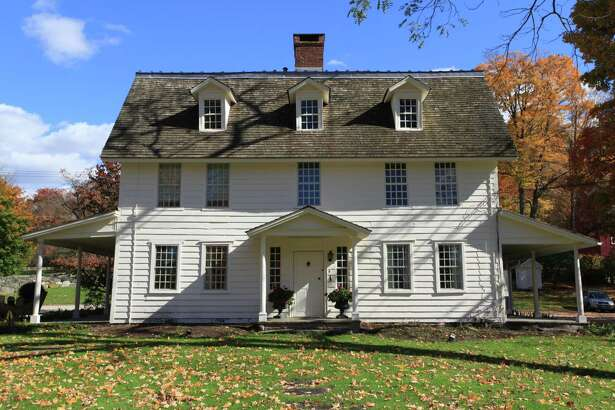 """Join former First Selectman and Wilton historian Bob Russell on a walking tour of the Wilton Historical Society's preserved buildings at Lambert Corner June 8. The hour-long guided tour includes Lambert House, above, formerly known as """"Lilacstead,"""" which was built on the site circa 1726."""