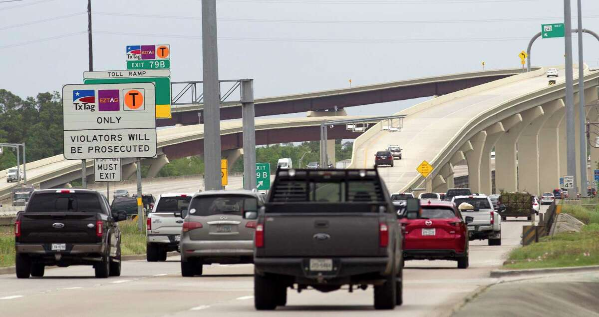 Montgomery County commissioner unanimously approved an advanced funding agreement between the county the Texas Department of Transportation Tuesday for the construction of a new direct connector at Texas 242 and Interstate 45 seen in this file photo.