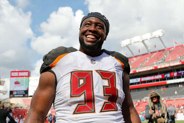 Six-time Pro Bowl selection Gerald McCoy is a free agent after being released by Tampa Bay. Is he a fit for the Texans?