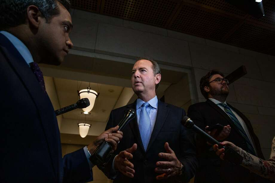 Democratic Rep. Adam Schiff, chair of the House Intelligence Committee, said he would accept documents in 12 narrower categories, though he has not specified publicly what they are. Photo: Amr Alfiky / New York Times