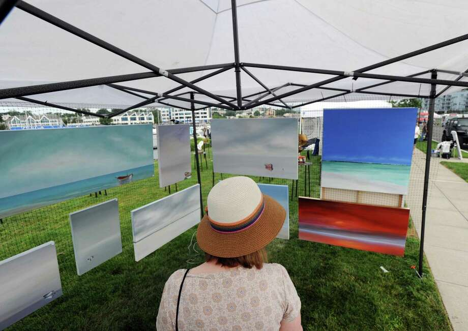The Harbor Point Arts Festival takes place July 27 and 28. Photo: Hearst Connecticut Media File Photo / Greenwich Time