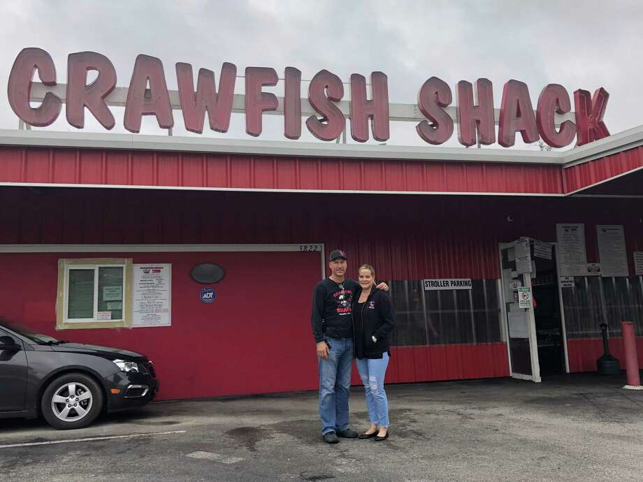 Dan and Jen Meaux own and operate the Crawfish Shack Photo: Elliott Lapin / Staff Photo