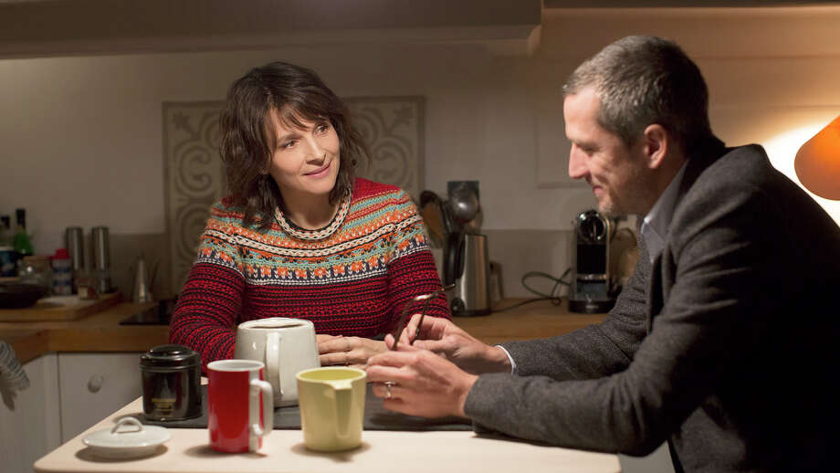 "Juliette Binoche, left, and Guillaume Canet star in ""Non-Fiction."" Photo: IFC Films/Sundance Selects / IFC Films"