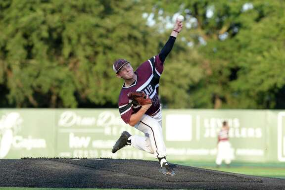 Cy-Fair High School junior Rhett McCaffety was voted the 2018-19 District 17-6A Pitcher of the Year by league coaches.