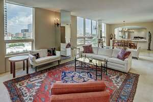 10. 5100 San Felipe Street 81-82, Houston  Sold Price Range: $552,000-$627,000 2,690 square feet Four Leaf Towers building amenities: Resort style pool, tennis courts, gym with dry sauna and hot tub, concierge and valet service.
