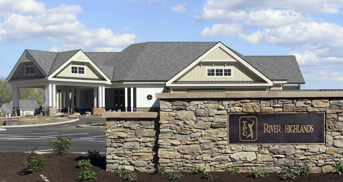 The clubhouse at TPC River Highands in Cromwell, site of the Travelers Championship.
