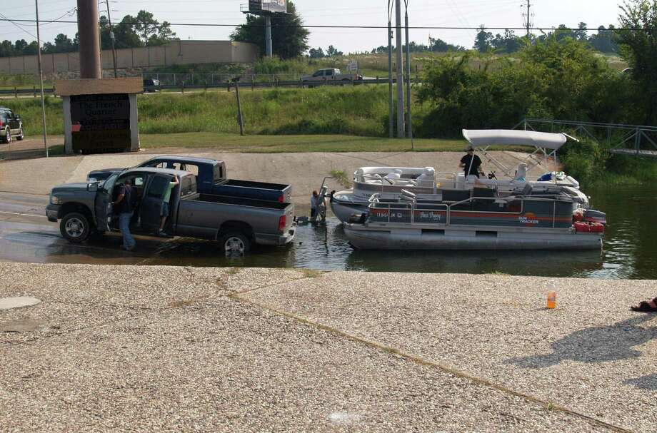 The boat launch is not the place to find your boat want start. Photo: Larry J. LeBlanc