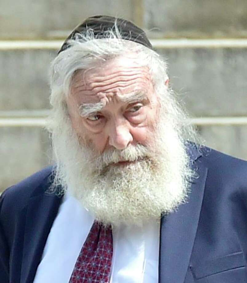 Rabbi Daniel Greer, now 79, of New Haven, outside New Haven Superior Court on Elm Street in New Haven. Photo: Peter Hvizdak / Hearst Connecticut Media File Photo / New Haven Register