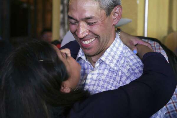 Mayor Ron Nirenberg, show with wife Erika on election night, simply has better ideas and policy positions than his runoff opponent.