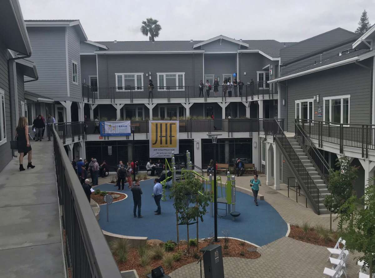 The opening of Redwood Hill Townhomes on May 14, 2019.