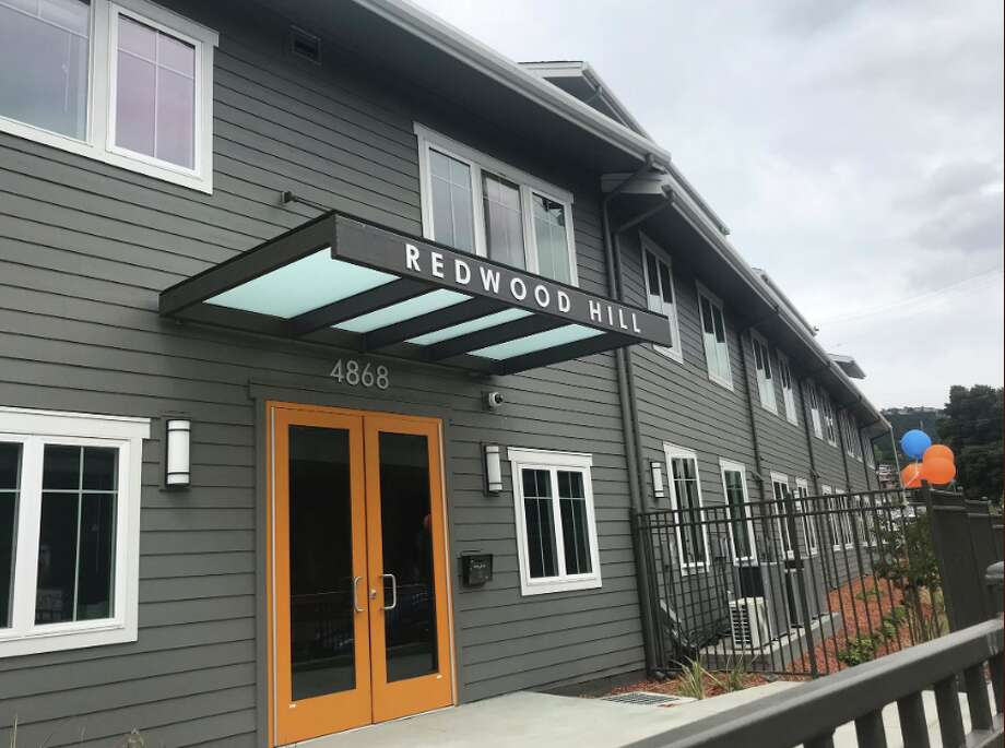 Redwood Hill Townhomes on May 14, 2019. Photo: Oakland Mayor Libby Schaf/Twitter