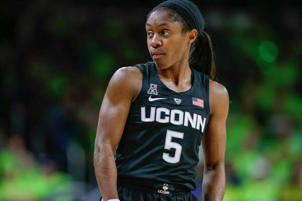 Crystal Dangerfield will be the unquestioned leader of the Huskies on and off the court next season.