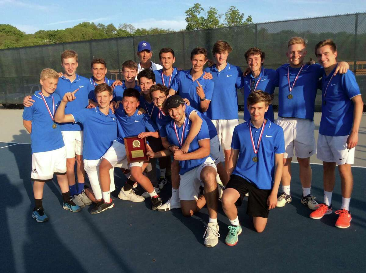 Darien won the FCIAC title with a 4-2 win over defending champion Staples at Wilton High on Wednesday.