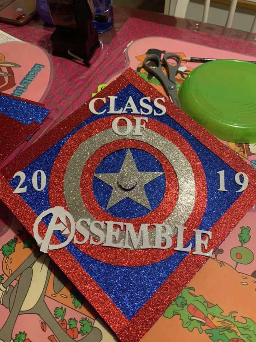 Graduation cap picture submitted by Laura Villanueva on Wednesday, May 22, 2019.