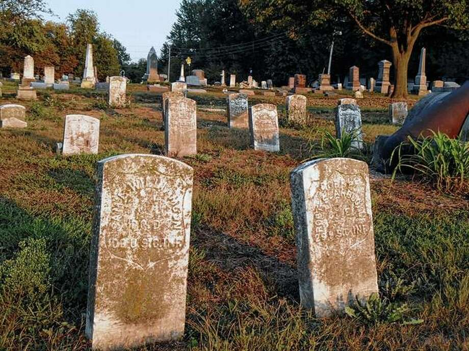 The military section at Jacksonville East Cemetery, which dates to the Spanish-American War, has a number of graves for Civil War veterans who weren't buried in family plots. Photo: Photo Provided By Jeannie Hemphill