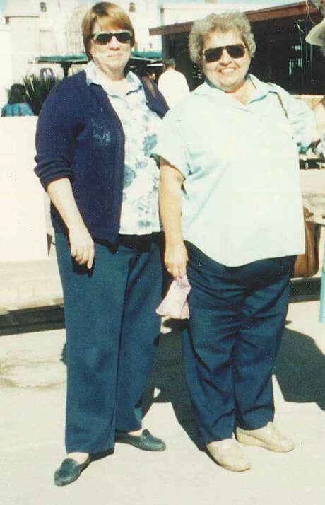 Mac-Haydn Theatre co-foundersof Lynne Haydn, left, and Linda MacNish circa 1987. (Mac-Haydn Theatre)