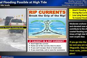 The National Weather Service is reminding people of beach safety tips ahead of the Memorial Day weekend, when high tides and strong rip currents are expected.