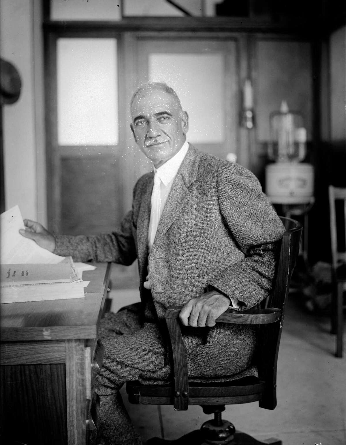 John Q. Tilson (R), the lone congressman from Connecticut to vote against women's suffrage in May 1919.