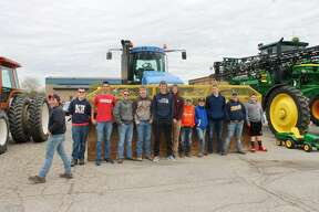 Wednesday was Take your Tractor to School day at North Huron School. All kinds of tractors were on display in the school's parking lot.