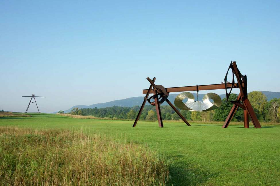 Views of the outdoor sculptures at Storm King. (Provided, Storm King Arts Center)