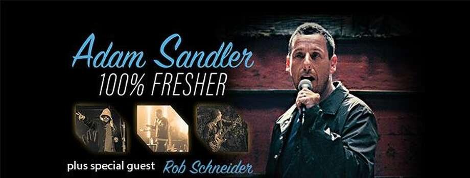June 6: Adam Sandler at Van Andel Arena, Grand Rapids www.vanandelarena.com Photo:  Www.vanandelarena.com