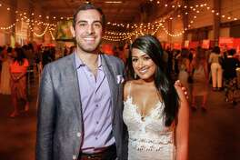 EMBARGOED FOR SOCIETY REPORTER UNTIL MAY 24 Jonathan Jaoude and Anisha Roy at Taste of the Nation.