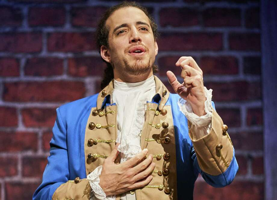 """Adrian Lopez, from Tomball, stars as the lead of """"Spamilton: An American Parody."""" Photo: Photo Courtesy Of Roger Mastroianni / Roger Mastroianni / © 2018 Roger Mastroianni"""