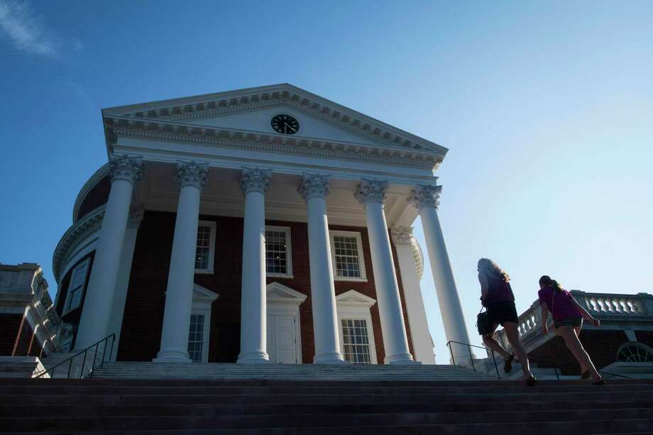 The Rotunda is seen as the University of Virginia in Charlottesville. Photo: Washington Post Photo By Jabin Botsford. / The Washington Post