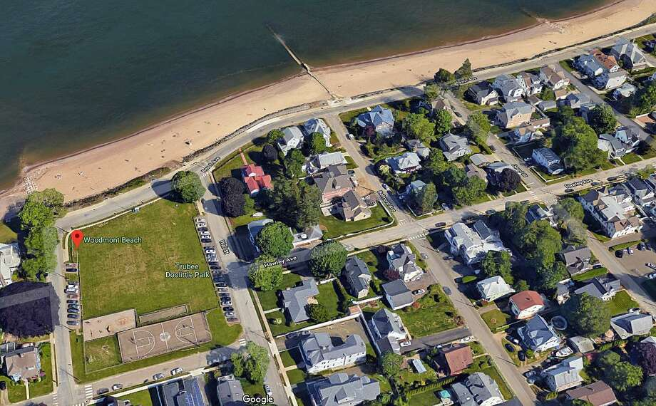 A 55-year-old Fairfield man has been arrested after he allegedly exposed him self to females near Woodmont Beach on Wednesday, May 22, 2019. Roger Sherwood, of Moody Street, was charged with public indecency, breach of peace, possession of less than half an ounce of marijuana and possession of drug paraphernalia. Photo: Google Street View Image
