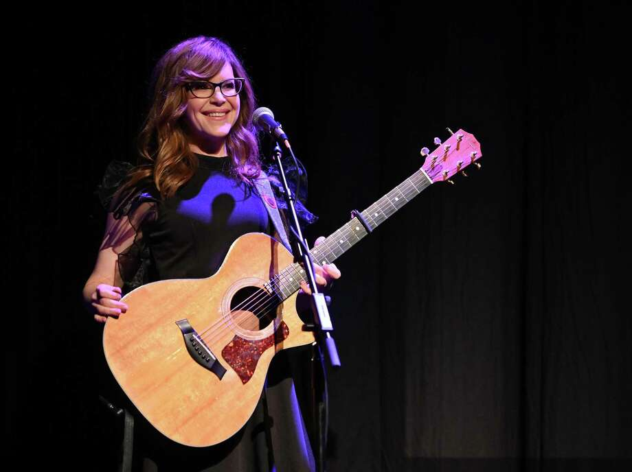 Singer-songwriter Lisa Loeb will be performing a show for adults Aug. 9 and for children Aug. 10 at Norwalk's Wall Street Theater. Photo: Theo Wargo / Getty Images / 2019 Getty Images