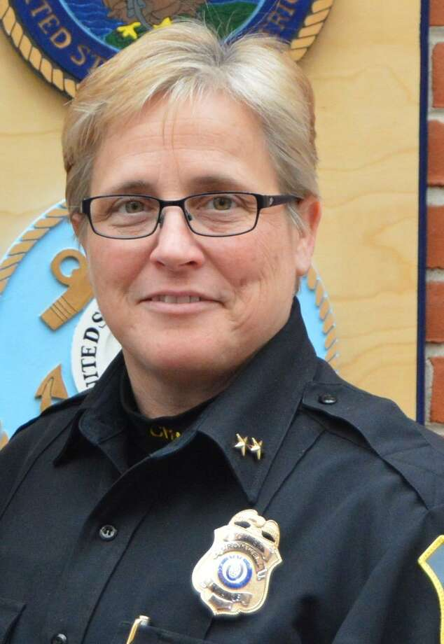 Cromwell Police Chief Denise Lamontagne earned this year's Middlesex County Chamber of Commerce Michael L. Green Award. Photo: Contributed Photo