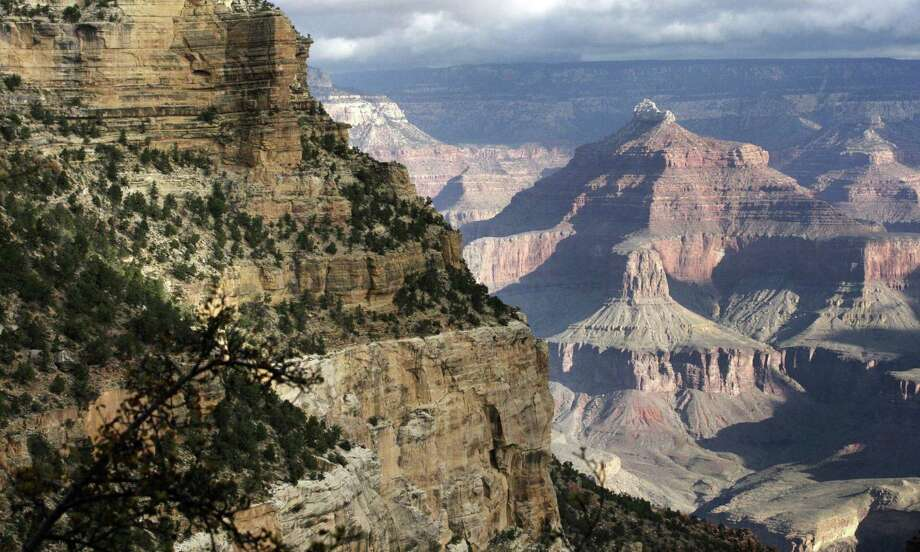 A view from the South Rim of the Grand Canyon National Park in Arizona. Beginning Friday, the park's popular South Rim's south entrance will be open from 4 a.m. to 2 p.m. daily, officials said in a statement. Photo: Rick Bowmer / Associated Press / Copyright 2017 The Associated Press. All rights reserved.