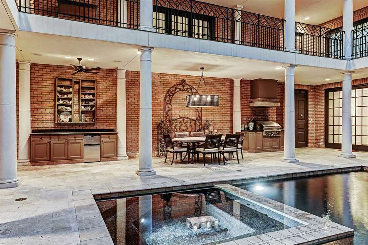 3195 Inwood Drive, 77019 Listing price: $7,950,000Square feet: 15,182Bedrooms: 6Baths: 6full and 2 half