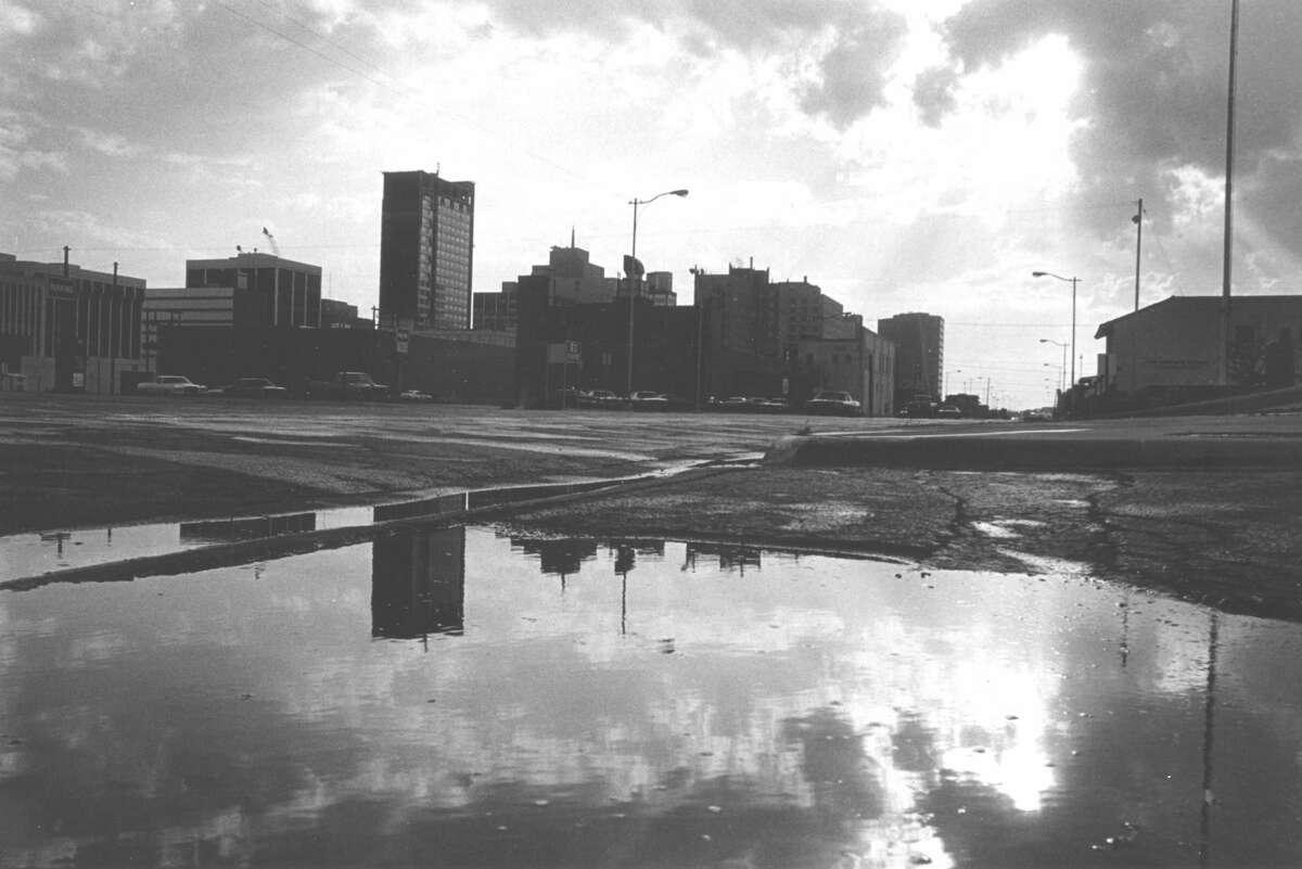 Midland skyline in April 1978