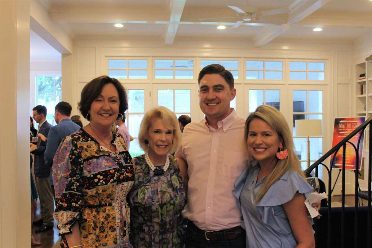 On Thursday, May 16, 2019, approximately 40 friends and supporters of Camp For All gathered to kick off the 2020 Gala planning at a private celebration hosted by Gala co-chairs, Beth Clarke and Leslie Schick.Pictured here areLiz Rigney, Leslye Weaver, Patrick and Emily Samuels.