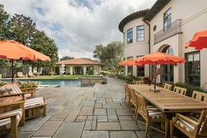 5538 Doliver Drive 77056     Listing price:  $4,975,000  Square feet: 9,208  Bedrooms:  4-5  Baths:  5full and 2 half