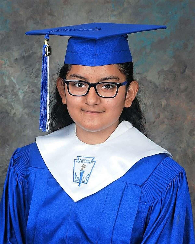 Needville High School Class of 2019 valedictorian is Claudia Garcia-Martinez.