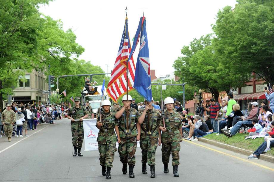 Photos from Danbury's annual Memorial Day parade in Danbury, Conn. on Monday, May 28, 2018. The parade began at the intersection of Rose St. and Main St. and ended with a ceremony at Rogers Park. Photo: Michael Cummo / Hearst Connecticut Media / Stamford Advocate