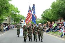 Photos from Danbury's annual Memorial Day parade in Danbury, Conn. on Monday, May 28, 2018. The parade began at the intersection of Rose St. and Main St. and ended with a ceremony at Rogers Park.