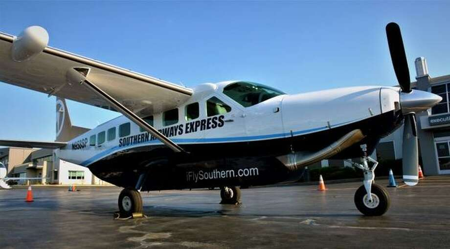A commuter airline, Southern Airways Express, will begin seasonal weekend service from Tweed New Haven Regional Airport to Nantucket, Mass. beginning June 14, the airline announced on Thursday, May 23, 2019. The flights will be on nine-seat Cessna Grand Caravans, pictured. Photo: Southern Airways Express
