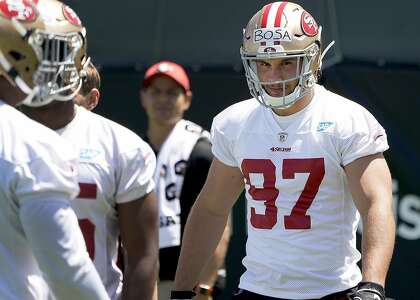 49ers' Nick Bosa could be sidelined until training camp