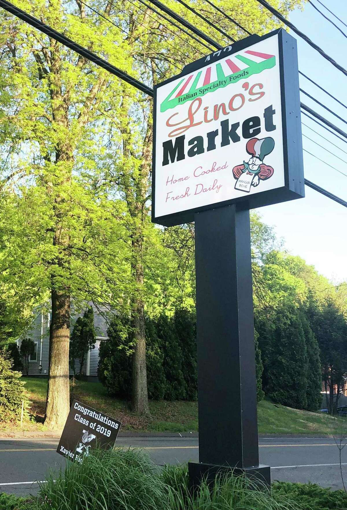 Lino's Market, 472 Main St., Durham, is one of two stores where volunteers are willing to pick up groceries for older residents and those with health issues during the Covid-19 outbreak.